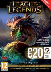 Buy Cheap League of Legends Riot Points Card 20 EUR PC CD Key