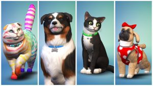 Los Sims 4 unveils a new expansion for November: Cats and Dogs