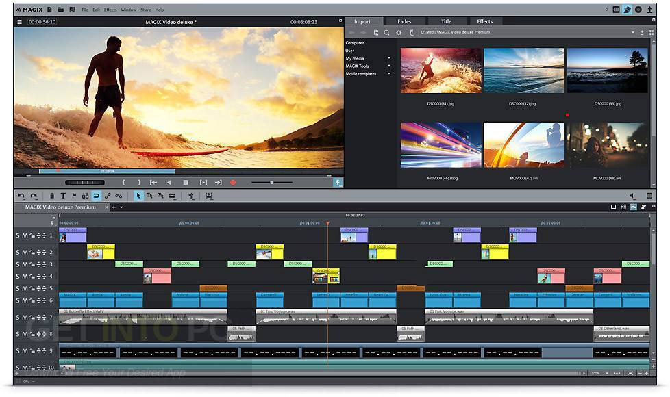 Buy Magix Movie Edit Pro 2018 Pc Cd Key From 6937 46