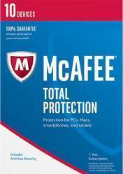 Buy MCAFEE TOTAL PROTECTION 2018 pc cd key