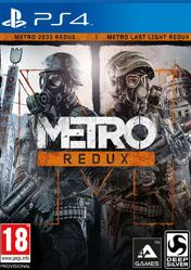 Buy Cheap Metro Redux PS4 CD Key
