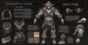 Middle-Earth: Shadow of War presents the Feral Tribe on a new video