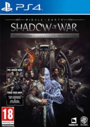 Buy Middle Earth Shadow of War Silver Edition PS4 CD Key