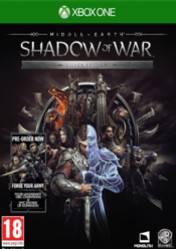 Buy Middle Earth Shadow of War Silver Edition XBOX ONE CD Key
