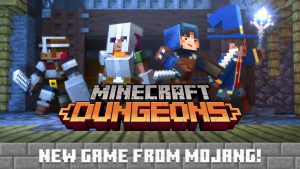 Mojang announces Minecraft: Dungeons, a dungeon crawler for PC