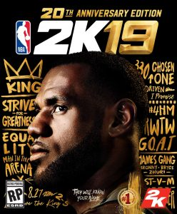 NBA 2K19 confirms its release date for September 22 and LeBron James as the cover star
