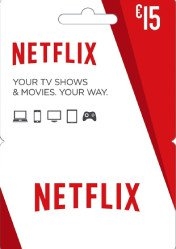 Buy Netflix Gift Card 15 EU/US/UK PC CD Key