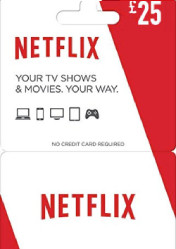 Buy Netflix Gift Card 25 EU/US/UK PC CD Key