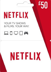 Buy Netflix Gift Card 50 EU/US/UK PC CD Key