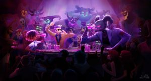 Night School Studio (Oxenfree) presents its new title: Afterparty