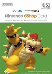 Buy Cheap Nintendo eShop Card 50 EURO PC CD Key