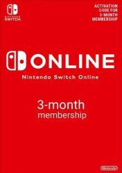 Buy Nintendo Switch Online 3 Months Membership Nintendo Switch