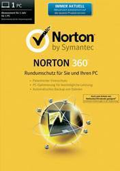 Buy Norton 360 1 Year pc cd key