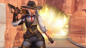 Overwatch presents a new hero: Ashe