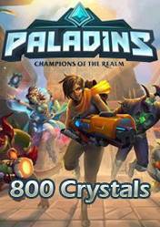 Buy Cheap Paladins 800 Crystals PC CD Key