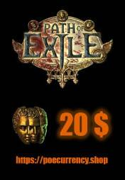 Buy Path of Exile 20$ Currency Shop pc cd key