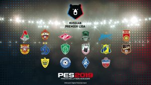 PES 2019 has confirmed the Russian Premier League with a new trailer