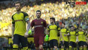 PES 2019 loses Borussia Dortmund's licence