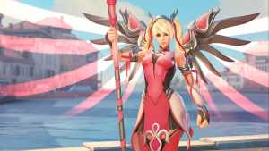 Pink Mercy skin raised almost $13 million for the Breast Cancer Research Foundation