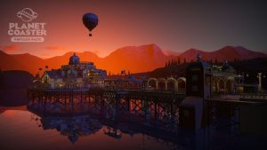 Planet Coaster publishes on July 10 new content under the Vintage Pack