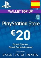 Buy Cheap PlayStation Network Card 20€ ES PC CD Key