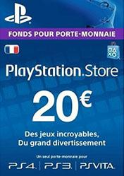 Buy PlayStation Network Card 20 EUR FR pc cd key