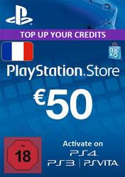 Buy Cheap PlayStation Network Card 50 EUR FR PC CD Key