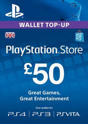 Buy Cheap PlayStation Network Card 50 GBP UK PC CD Key
