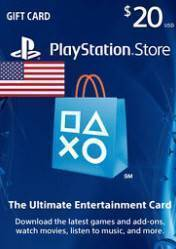Buy Cheap PlayStation Network Gift Card $20 US PS4 CD Key