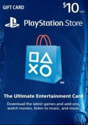 Buy Cheap PlayStation Network Gift Card $10 US PS4 CD Key