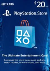 Buy PlayStation Network Gift Card $20 US PS4 CD Key