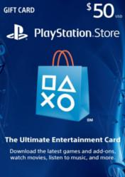 Buy PlayStation Network Gift Card $50 US PS4 CD Key