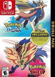 Buy Cheap Pokemon Sword and Pokemon Shield Double Pack NINTENDO SWITCH CD Key