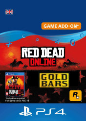 Buy Cheap Red Dead Online Gold Bars PS4 CD Key