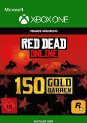 Buy Cheap RED DEAD REDEMPTION 2 Online 150 Gold Bars XBOX ONE CD Key
