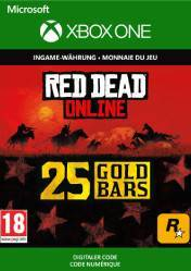 Buy Cheap RED DEAD REDEMPTION 2 Online 25 Gold Bars XBOX ONE CD Key