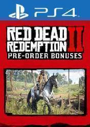 Buy Cheap RED DEAD REDEMPTION 2 WAR HORSE & OUTLAW SURVIVAL KIT PS4 CD Key