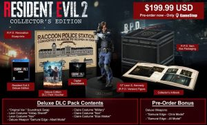 Resident Evil 2 will have a Collector's Edition in Europe
