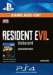 Buy Resident Evil 7 Biohazard Season Pass PS4 CD Key