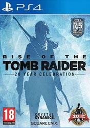 Buy Rise of the Tomb Raider 20 Year Celebration PS4
