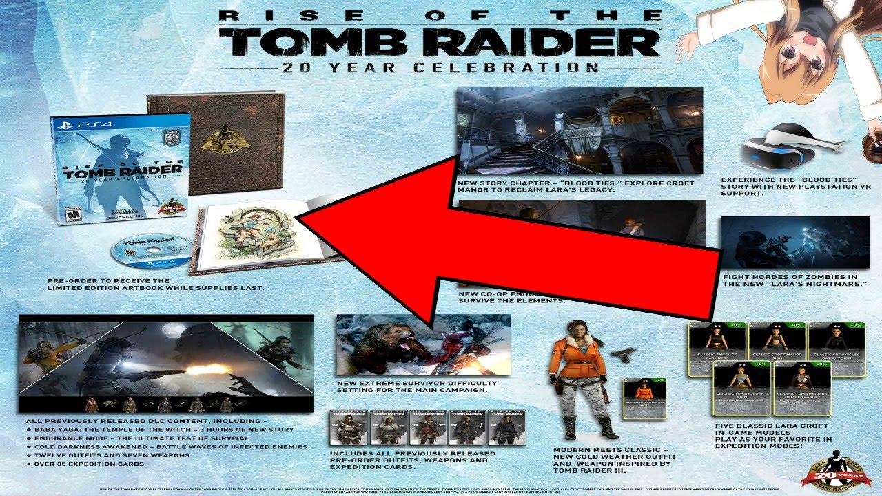Buy Rise Of The Tomb Raider 20th Anniversary Edition Pc Steam Cd