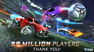 Rocket League has more than 50 million players