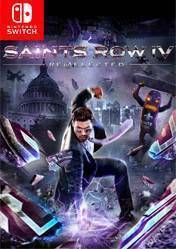 Buy Cheap Saints Row IV Re Elected NINTENDO SWITCH CD Key