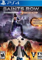 Buy Cheap Saints Row IV Re-elected + Gat Out of Hell PS4 CD Key