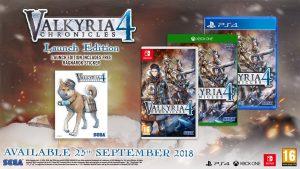 Sega announces the western release date for Valkyria Chronicles: September 25