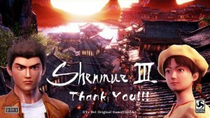 Shenmue III delayed to 2019