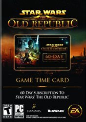 Buy Star Wars: The Old Republic 60 Day Pre-Paid Time Card pc cd key for Origin
