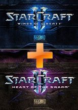 Buy StarCraft 2 Bundle: Wings of Libert + Heart of the Swarm pc cd key for Battlenet