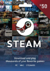 Buy Steam Gift Card 50 EU/US/UK PC CD Key