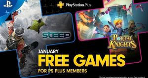 Steep and Portal Knights are your PlayStation Plus games for January